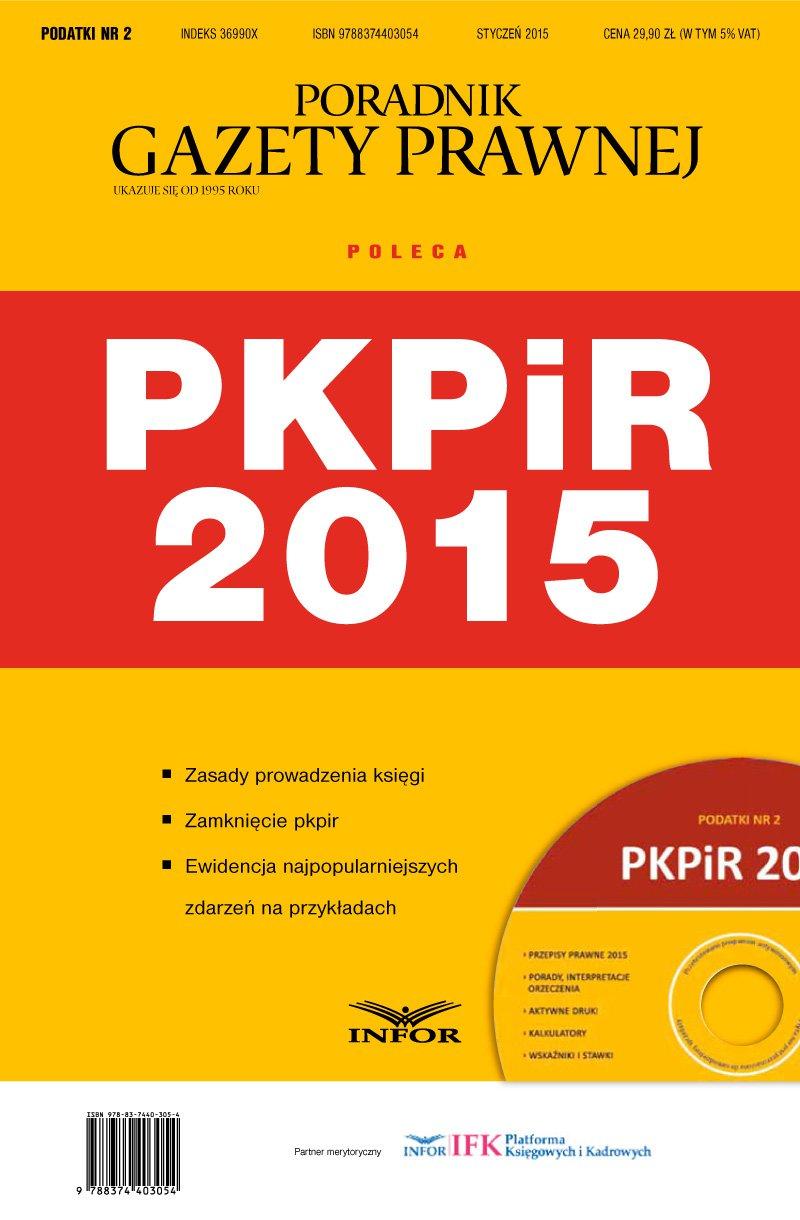 Podatki 2/2015 - Podatkowa Księga Przychodów i Rozchodów - Ebook (Książka PDF) do pobrania w formacie PDF