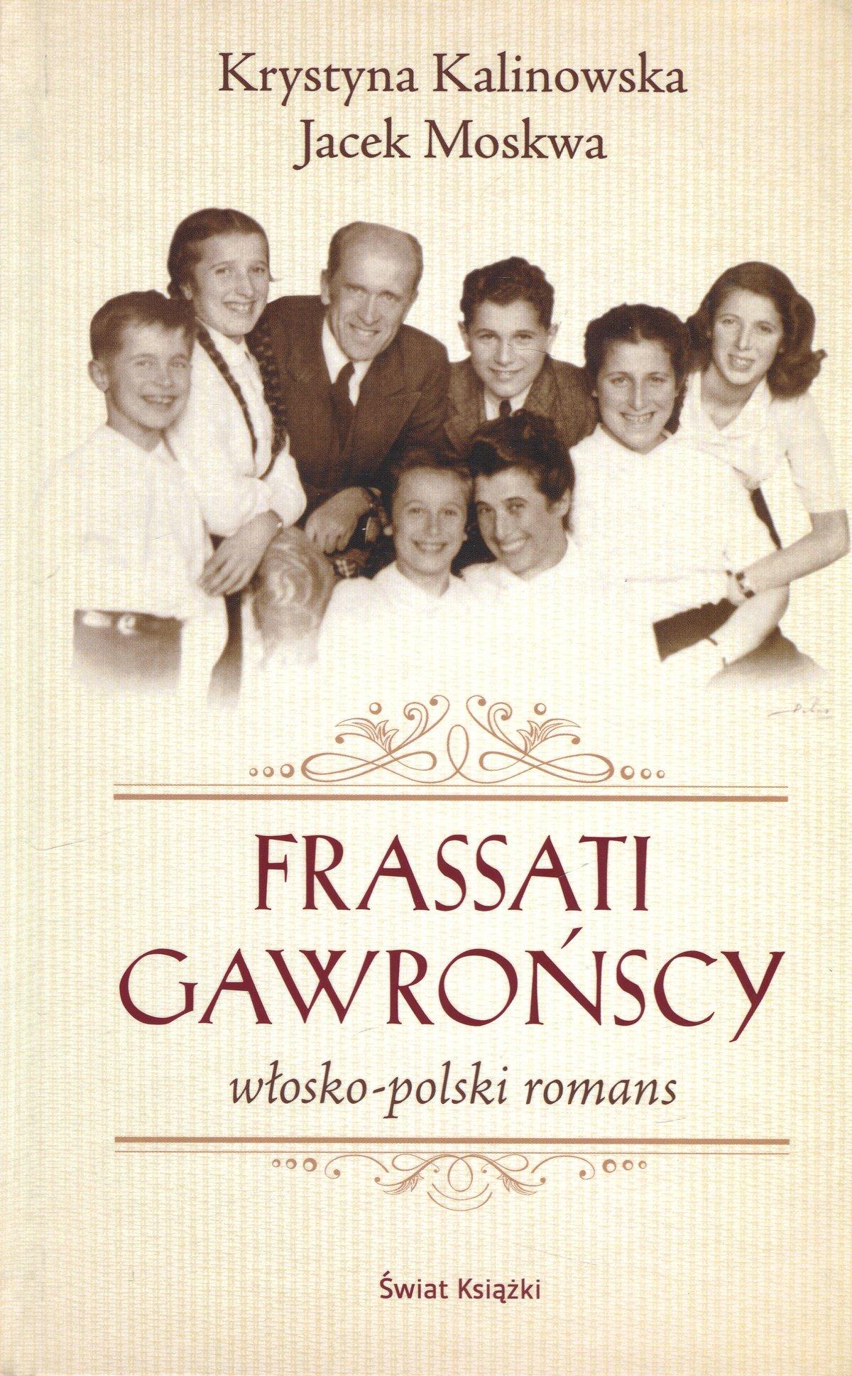 Frassati Gawrońscy. Włosko-polski romans - Ebook (Książka na Kindle) do pobrania w formacie MOBI