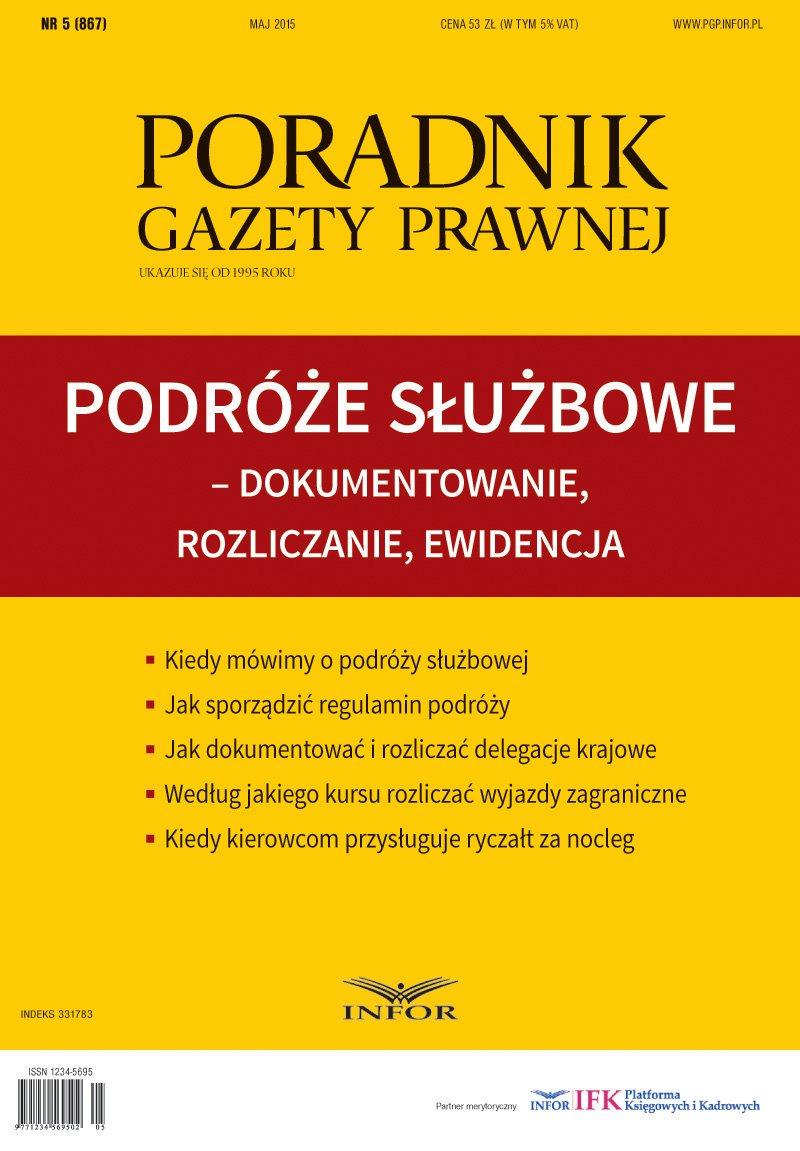 Podróże służbowe - Ebook (Książka PDF) do pobrania w formacie PDF