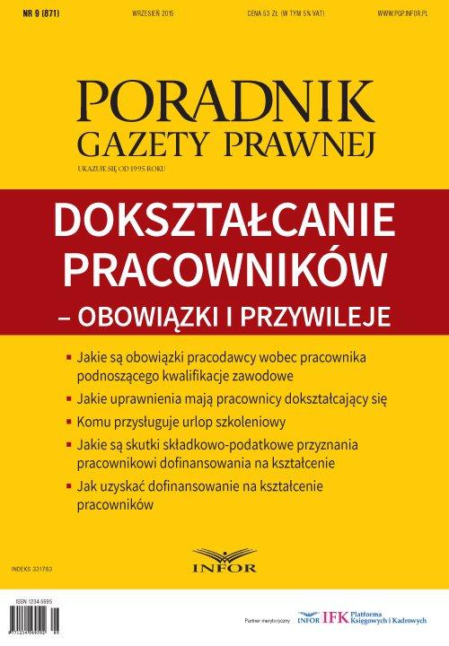 Dokształcanie pracowników - obowiązki i przywileje - Ebook (Książka PDF) do pobrania w formacie PDF