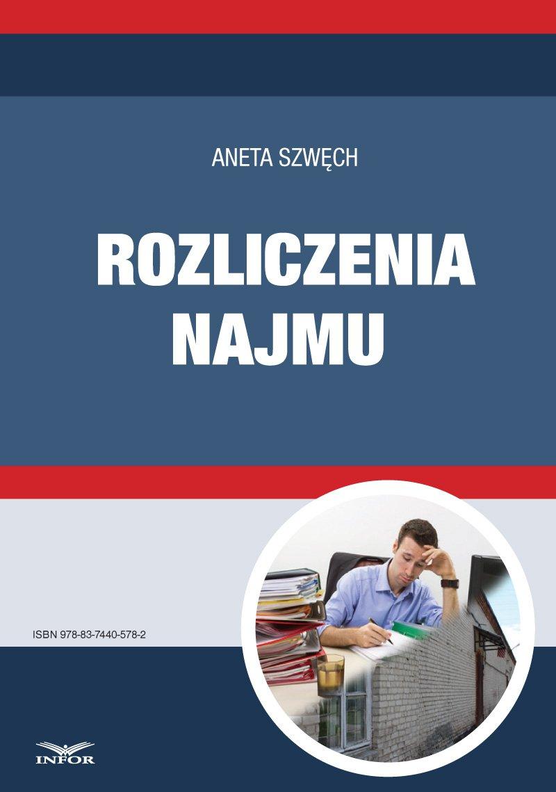 Rozliczenia najmu - Ebook (Książka PDF) do pobrania w formacie PDF