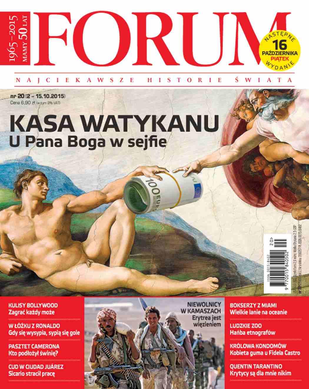Forum nr 20/2015 - Ebook (Książka PDF) do pobrania w formacie PDF