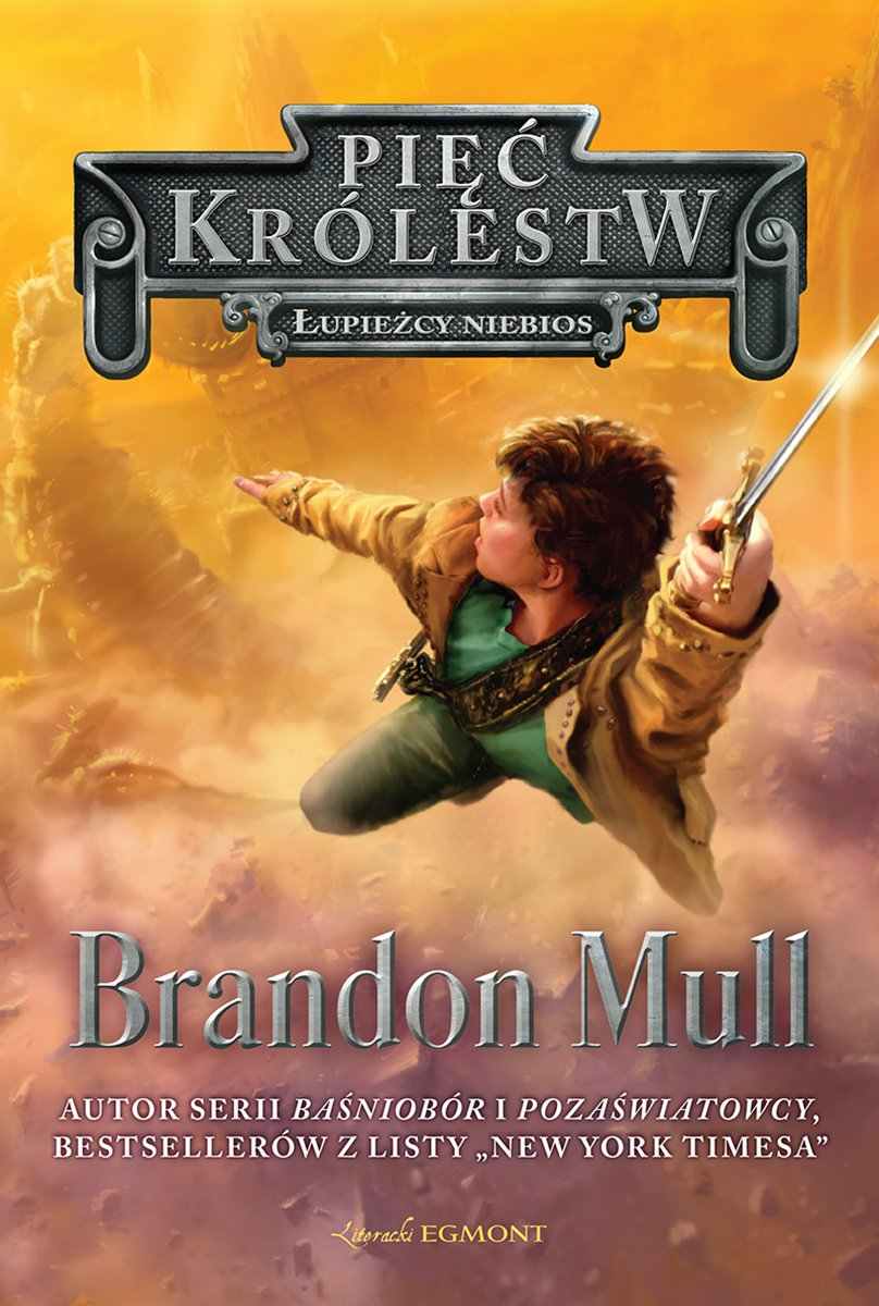 Łupieżcy niebios. Pięć królestw - Ebook (Książka na Kindle) do pobrania w formacie MOBI