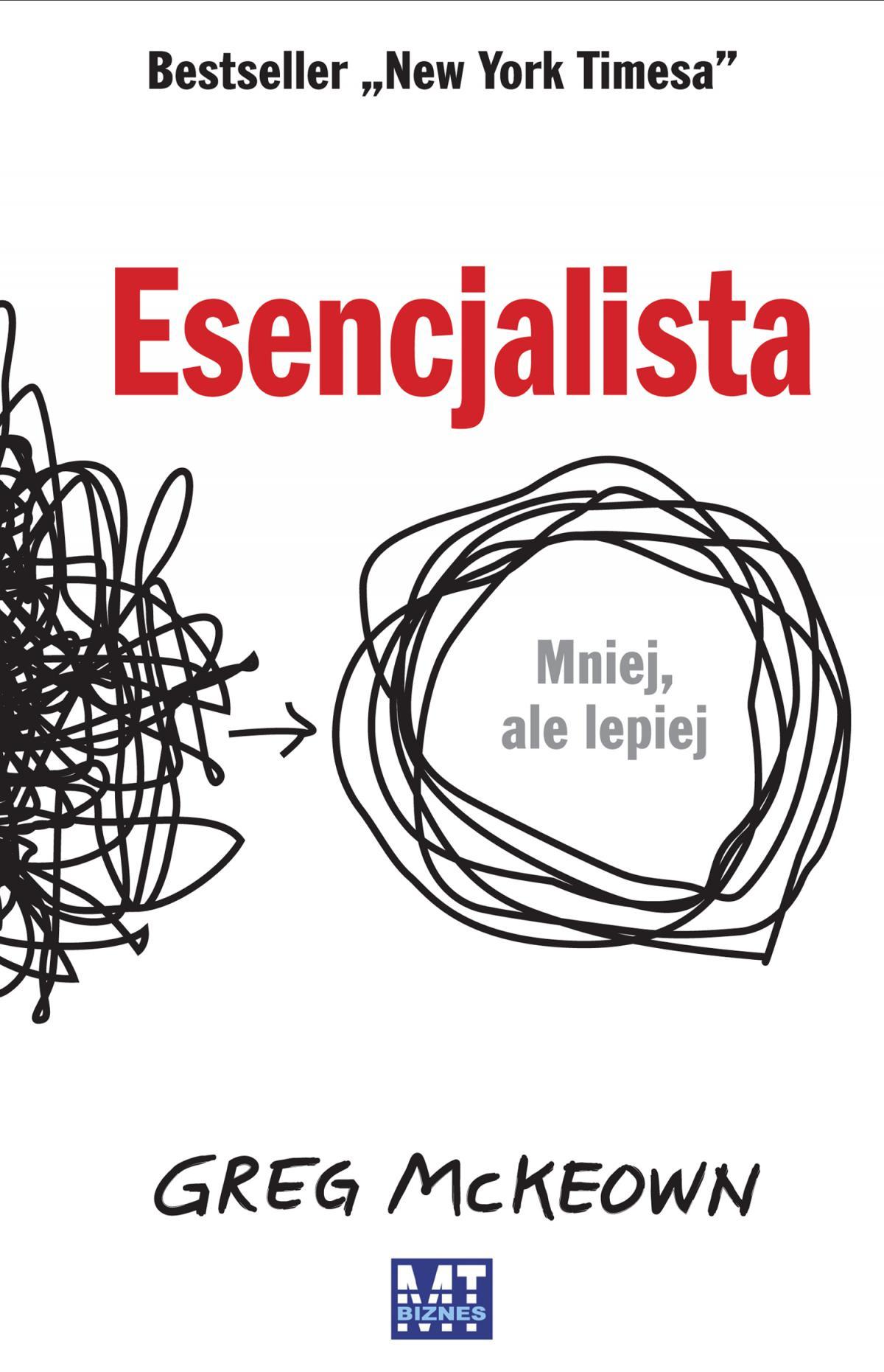 Esencjalista - Ebook (Książka na Kindle) do pobrania w formacie MOBI