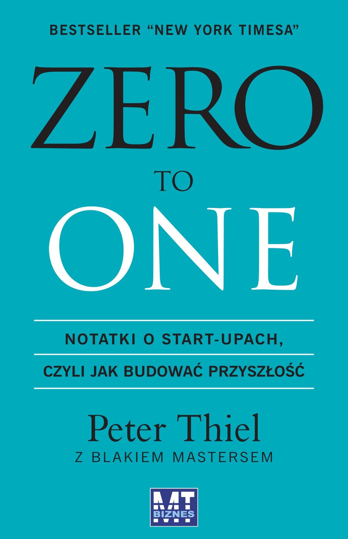Zero to One - Ebook (Książka EPUB) do pobrania w formacie EPUB