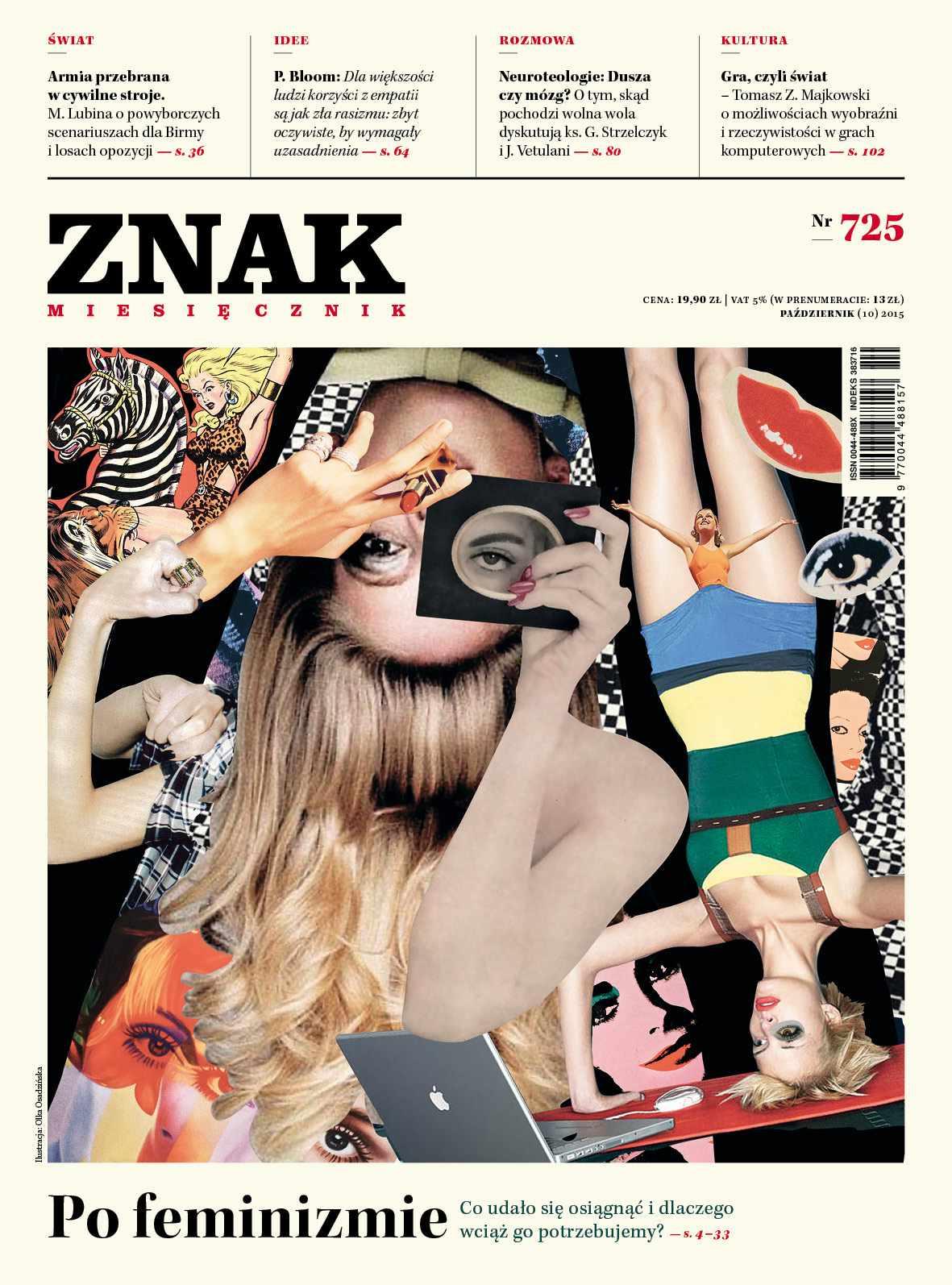 Po feminizmie. Miesięcznik Znak - Ebook (Książka na Kindle) do pobrania w formacie MOBI