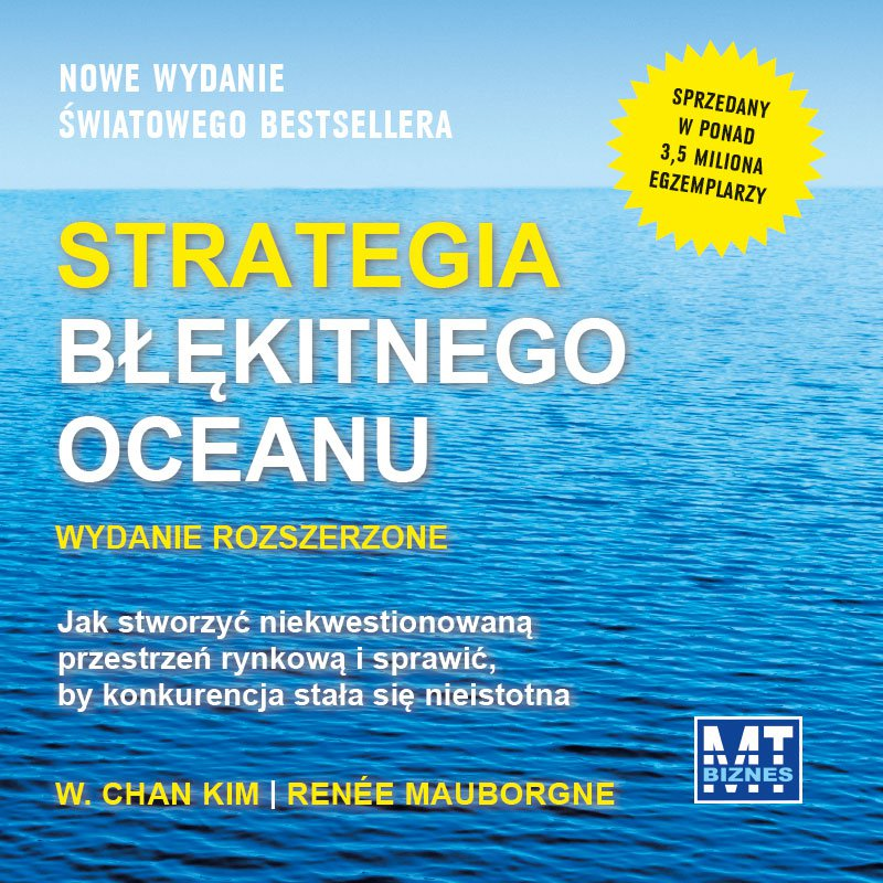 Strategia błękitnego oceanu. Wydanie rozszerzone - Audiobook (Książka audio MP3) do pobrania w całości w archiwum ZIP