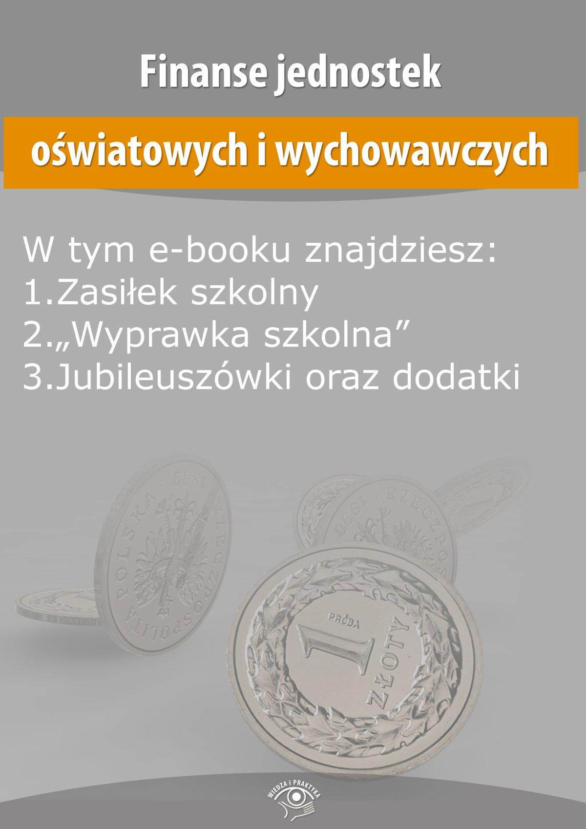Finanse jednostek oświatowych i wychowawczych, wydanie czerwiec 2015 r. - Ebook (Książka EPUB) do pobrania w formacie EPUB
