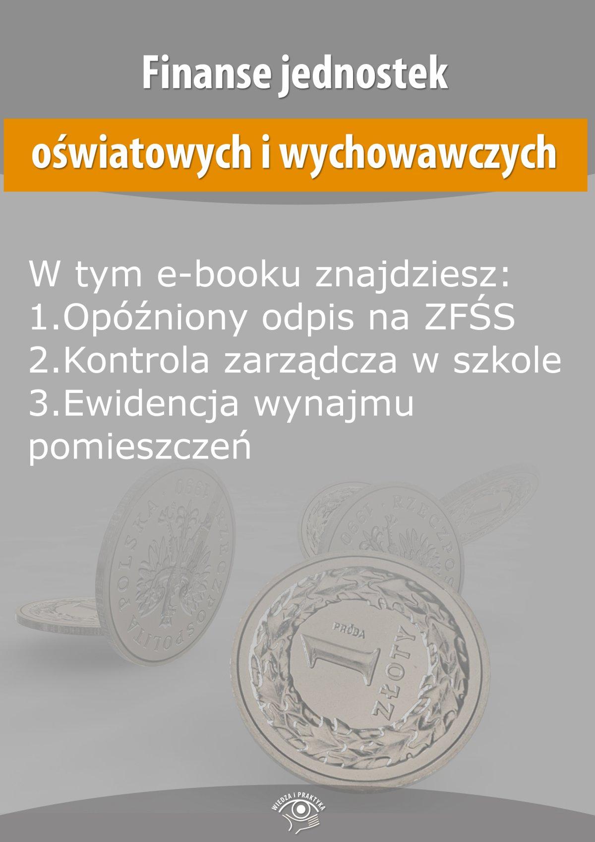 Finanse jednostek oświatowych i wychowawczych, wydanie sierpień 2015 r. - Ebook (Książka EPUB) do pobrania w formacie EPUB