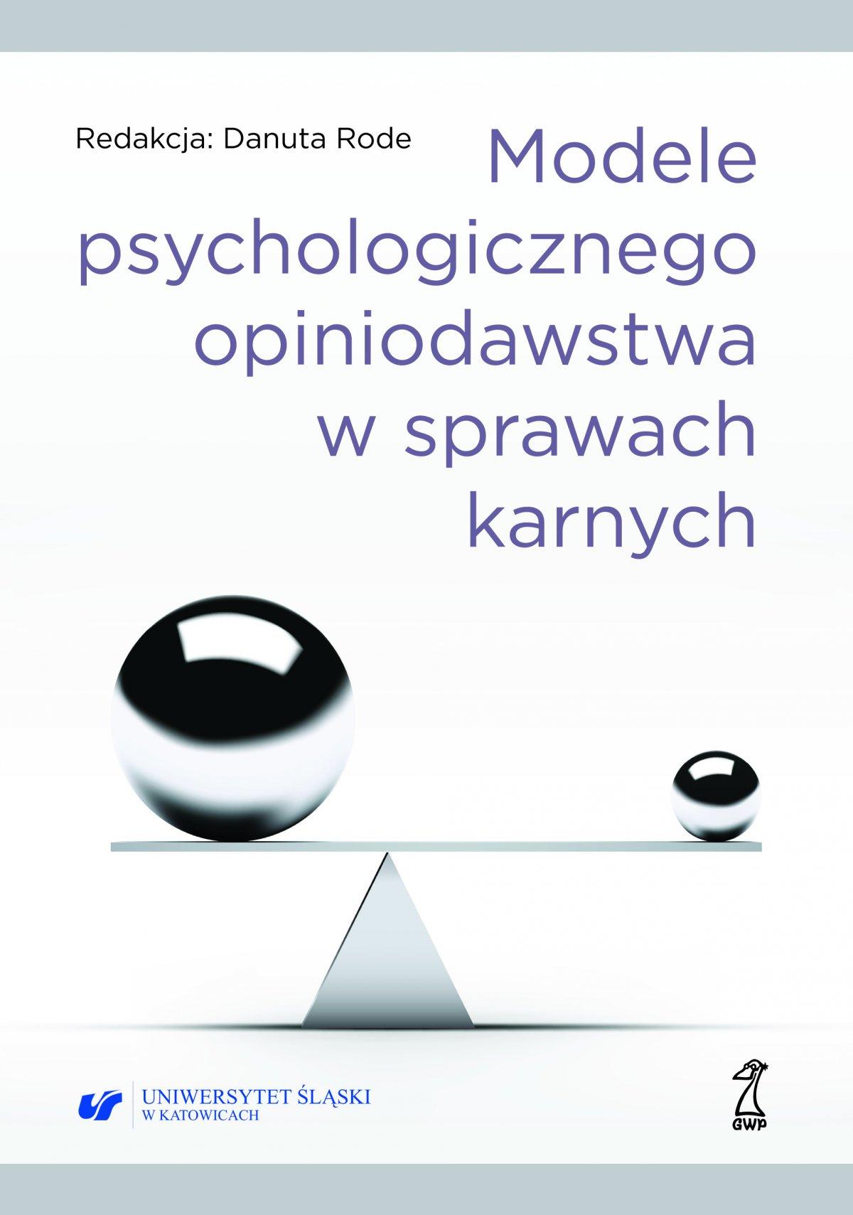 Modele psychologicznego opiniodawstwa w sprawach karnych - Ebook (Książka EPUB) do pobrania w formacie EPUB
