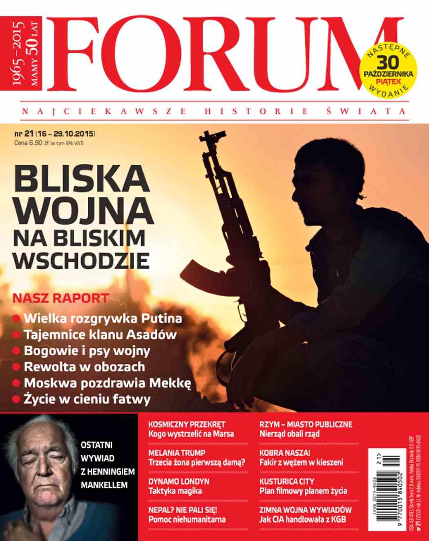 Forum nr 21/2015 - Ebook (Książka PDF) do pobrania w formacie PDF