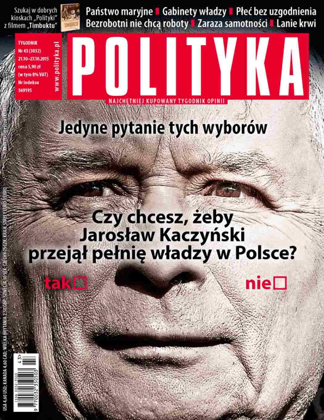 Polityka nr 43/2015 - Ebook (Książka PDF) do pobrania w formacie PDF