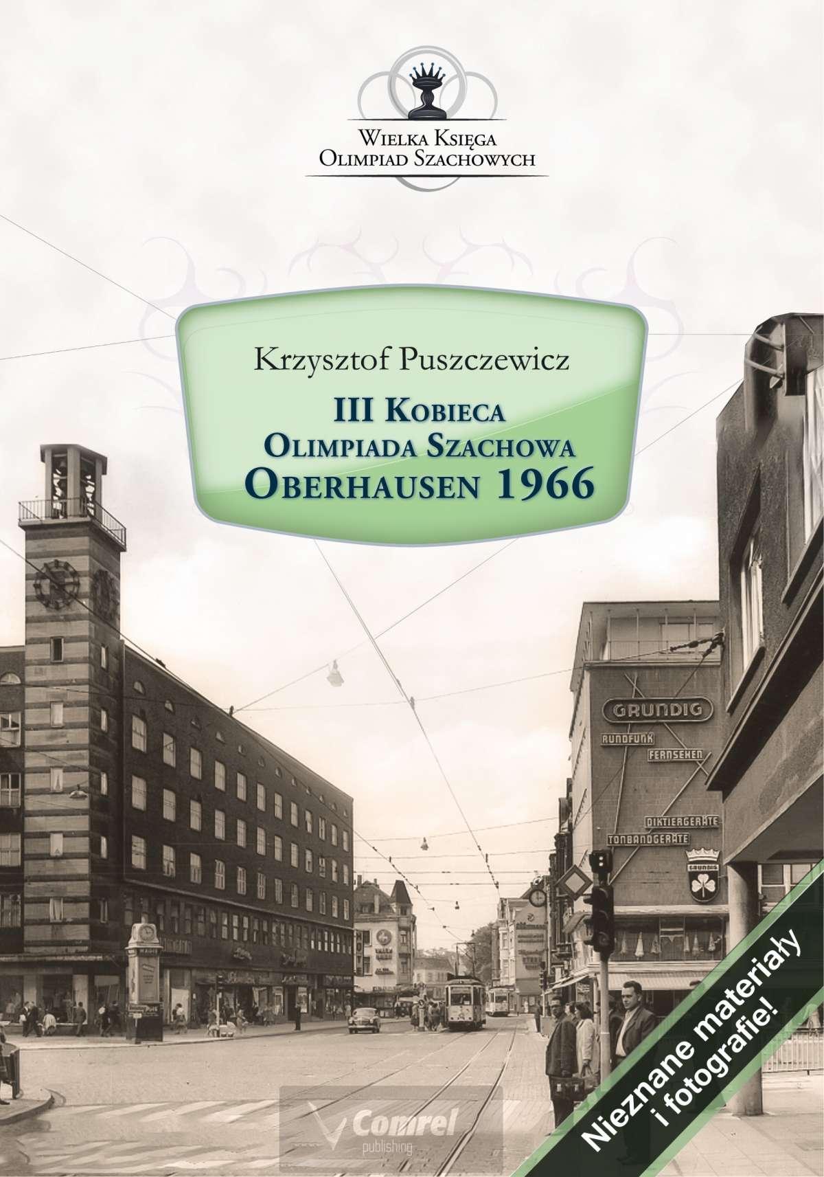 III Kobieca Olimpiada Szachowa - Oberhausen 1966 - Ebook (Książka PDF) do pobrania w formacie PDF