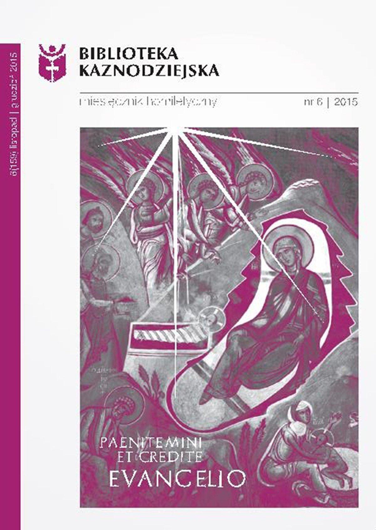 Biblioteka Kaznodziejska nr 06/2015 - Ebook (Książka EPUB) do pobrania w formacie EPUB