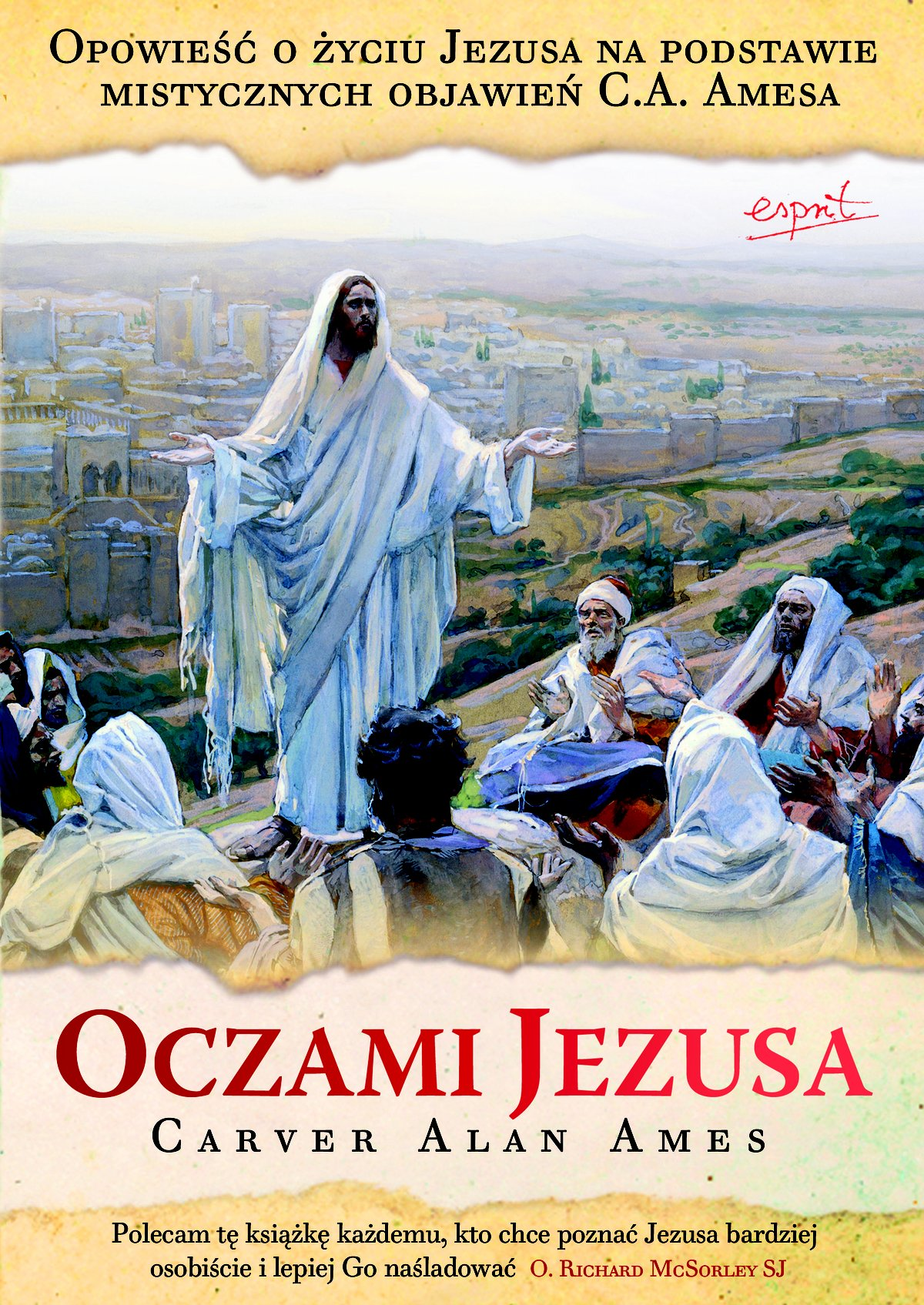 Oczami Jezusa - Ebook (Książka na Kindle) do pobrania w formacie MOBI