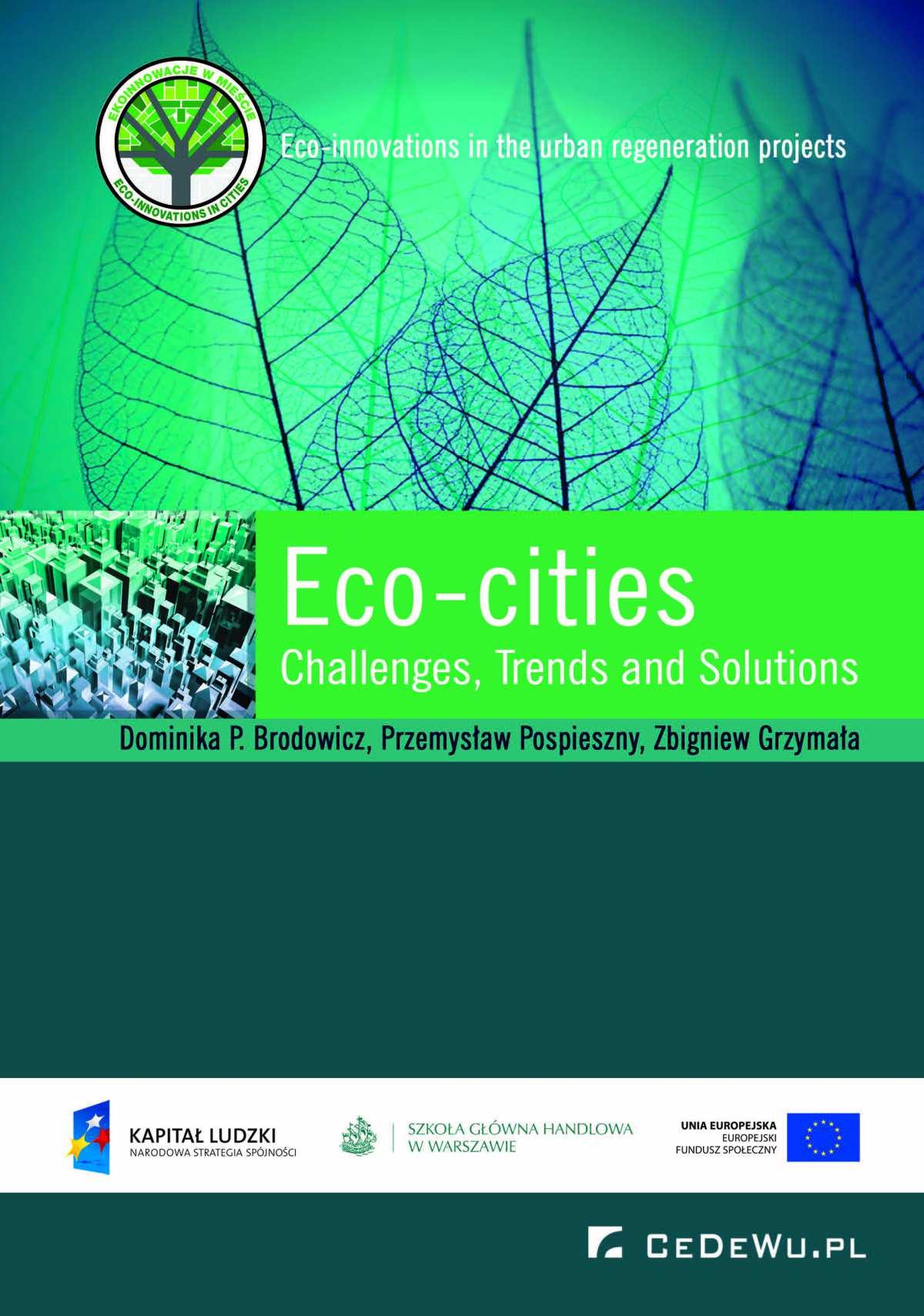 Eco-cities: Challenges, Trends and Solutions - Ebook (Książka EPUB) do pobrania w formacie EPUB