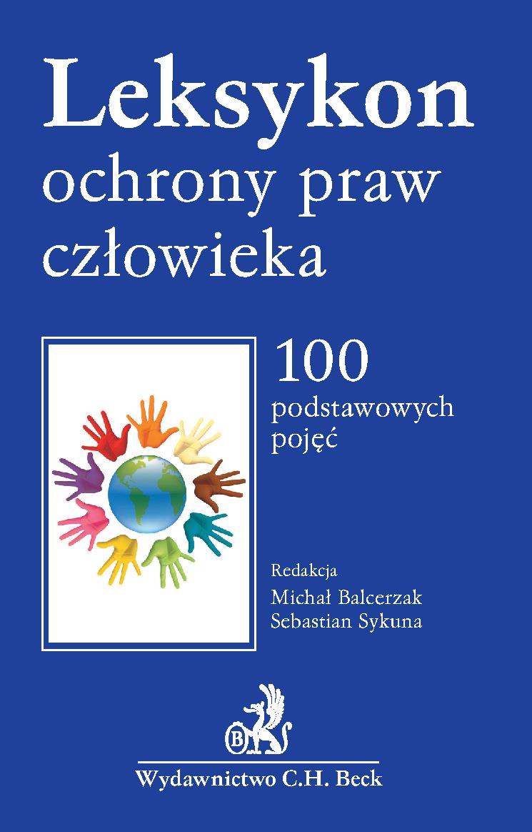 Leksykon ochrony praw człowieka - Ebook (Książka PDF) do pobrania w formacie PDF