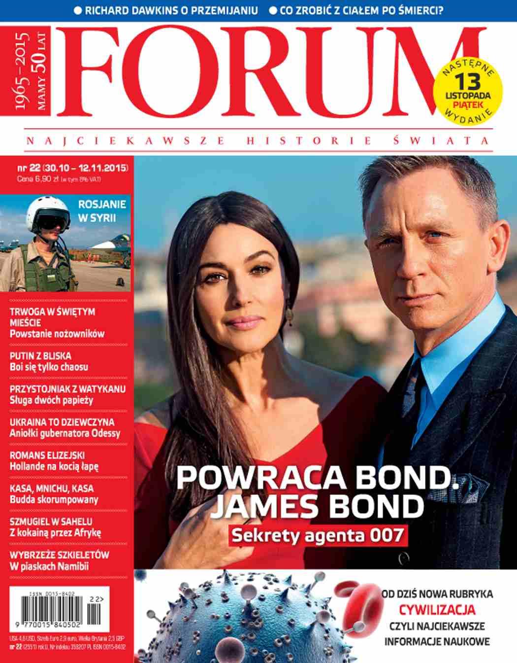 Forum nr 22/2015 - Ebook (Książka PDF) do pobrania w formacie PDF