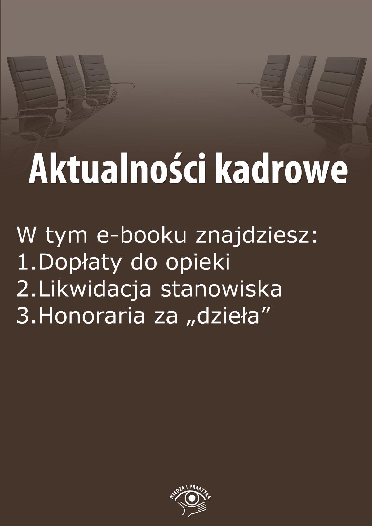 Aktualności kadrowe, wydanie czerwiec 2015 r. Część II - Ebook (Książka PDF) do pobrania w formacie PDF