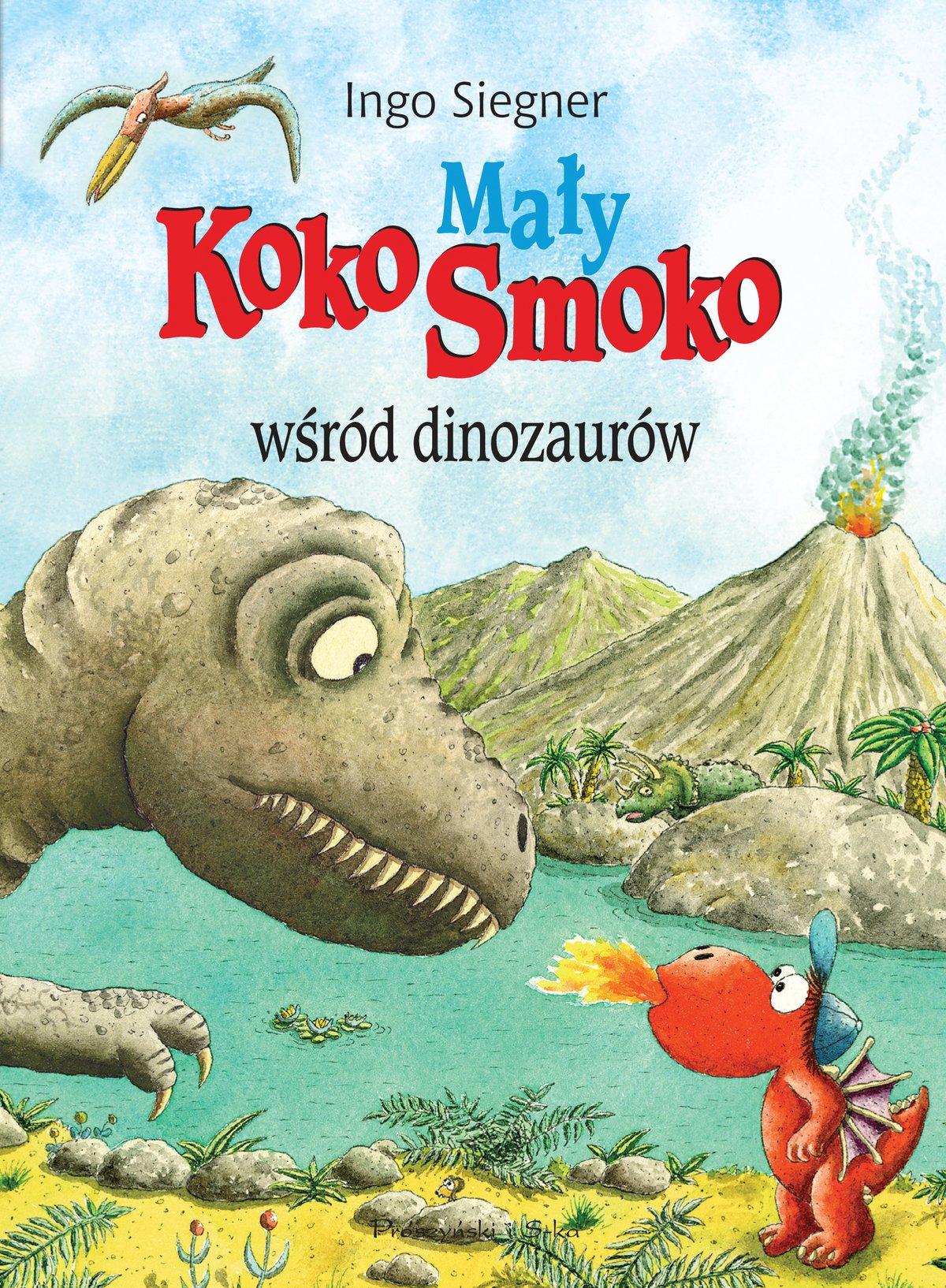 Mały Koko Smoko wśród dinozaurów - Ebook (Książka na Kindle) do pobrania w formacie MOBI