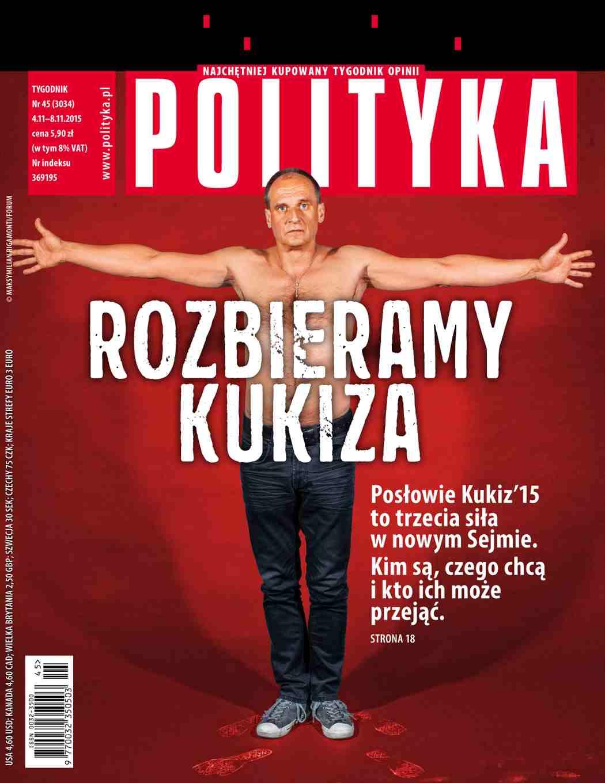 Polityka nr 45/2015 - Ebook (Książka PDF) do pobrania w formacie PDF