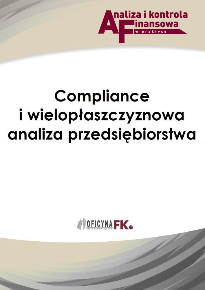 Compliance i wielopłaszczyznowa analiza przedsiębiorstwa - Ebook (Książka PDF) do pobrania w formacie PDF