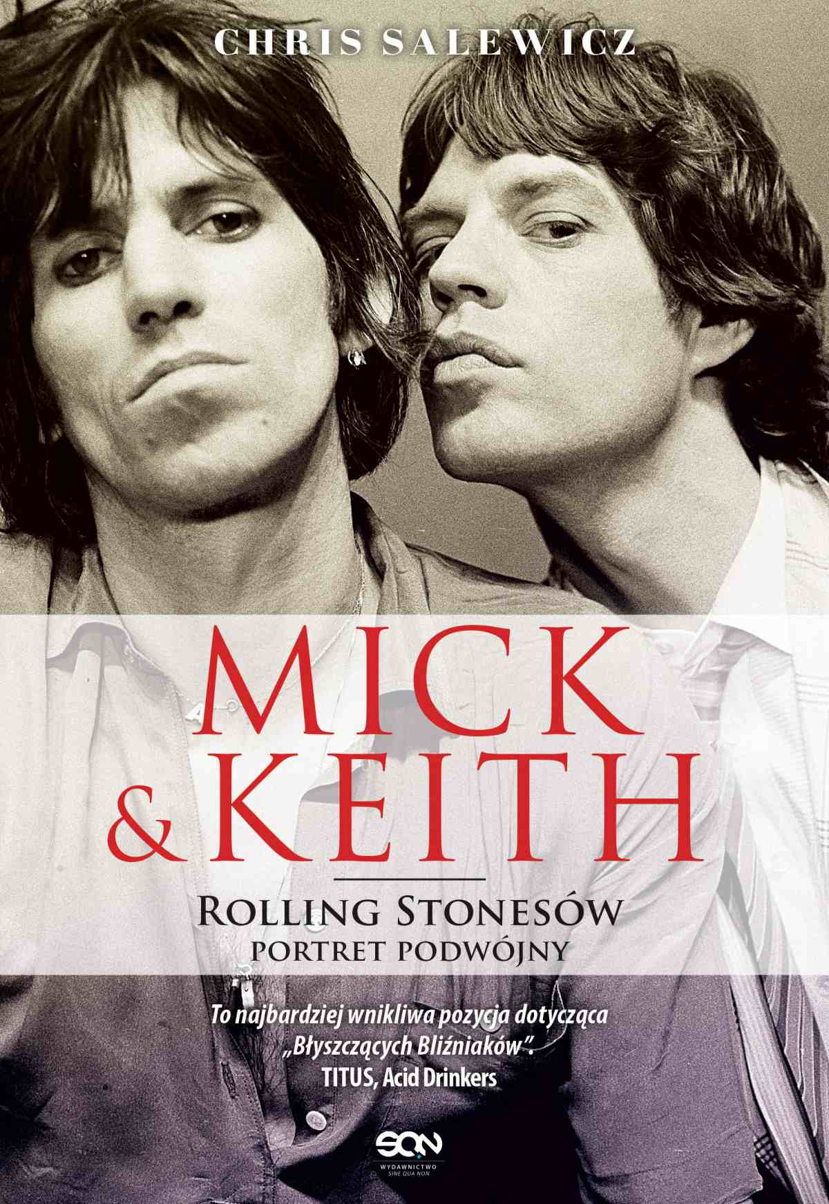 Mick i Keith. Rolling Stonesów portret podwójny - Ebook (Książka EPUB) do pobrania w formacie EPUB