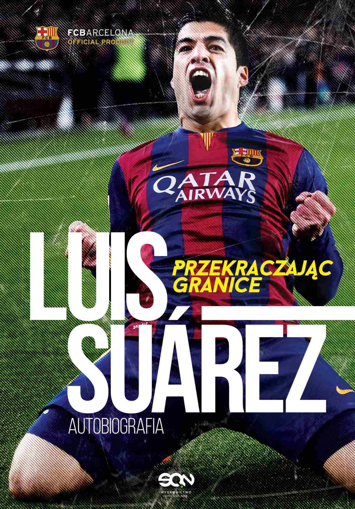 Luis Suarez. Przekraczając granice. Autobiografia - Ebook (Książka EPUB) do pobrania w formacie EPUB