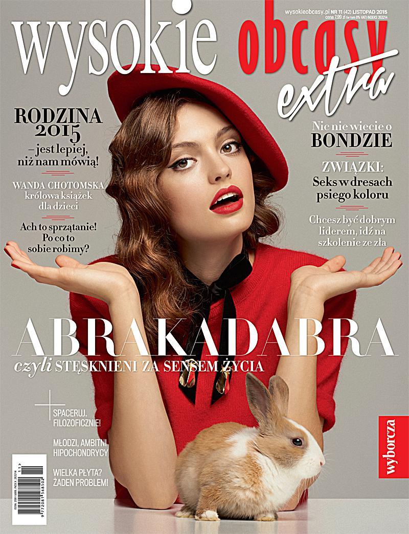 Wysokie Obcasy Extra 11/2015 - Ebook (Książka PDF) do pobrania w formacie PDF