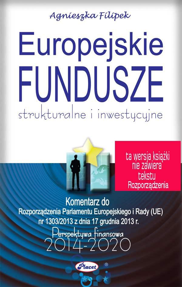 Europejskie Fundusze strukturalne i inwestycyjne - Ebook (Książka PDF) do pobrania w formacie PDF