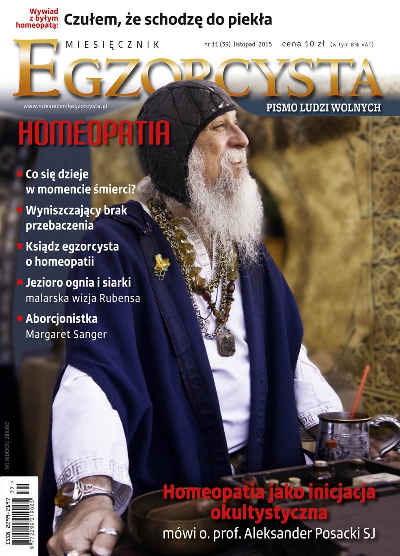 Miesięcznik Egzorcysta. Listopad 2015 - Ebook (Książka PDF) do pobrania w formacie PDF