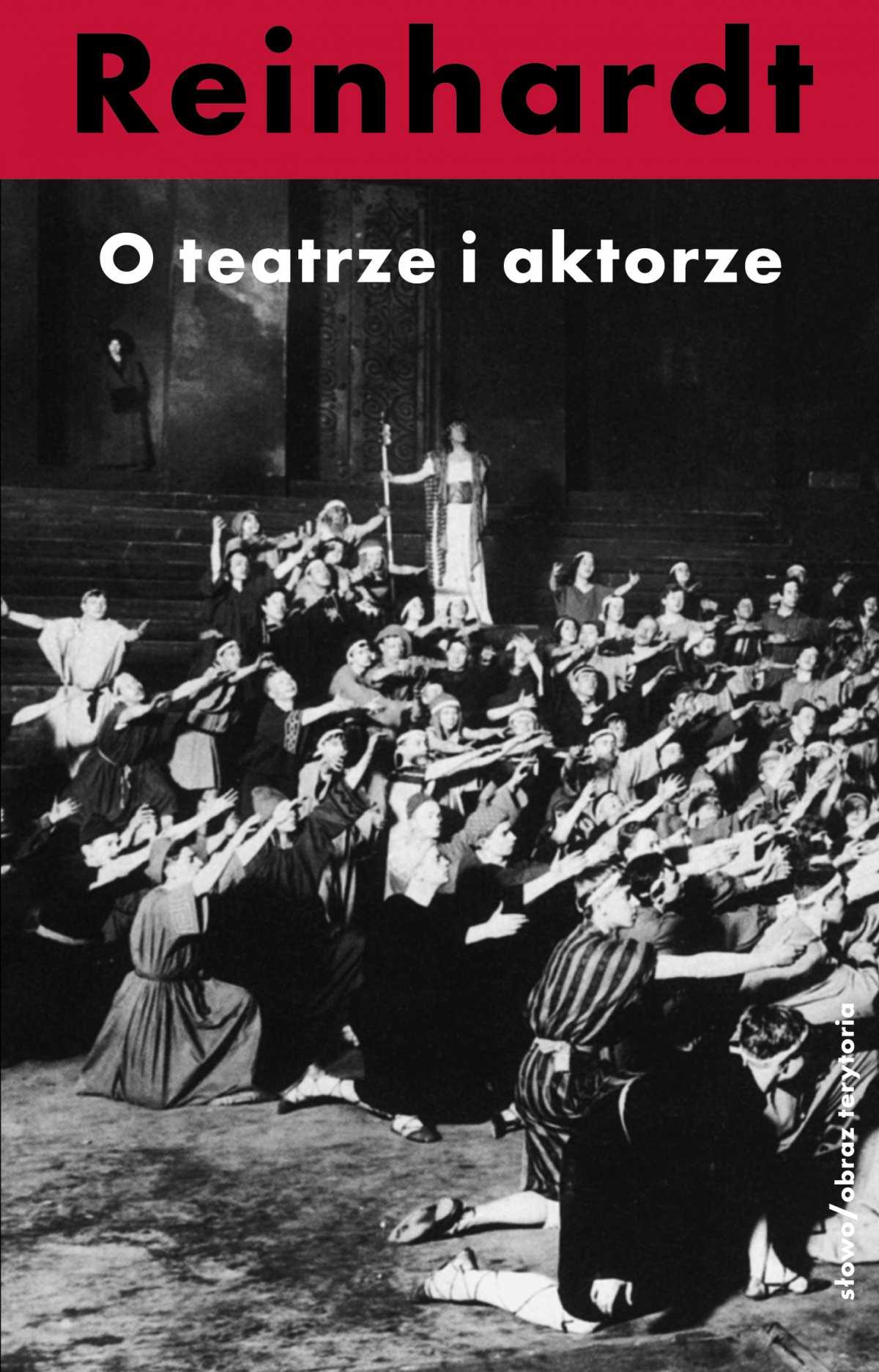 O teatrze i aktorze - Ebook (Książka na Kindle) do pobrania w formacie MOBI