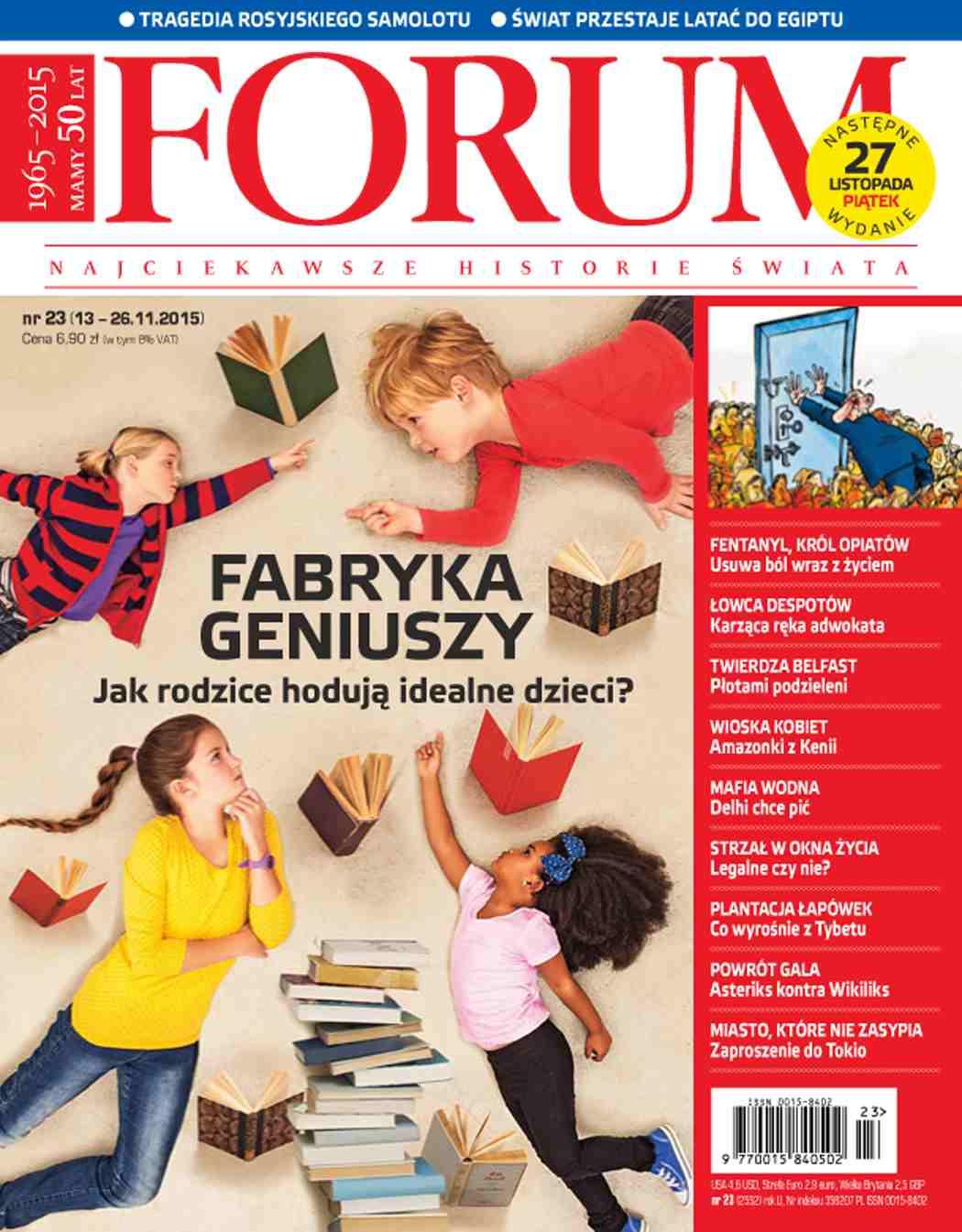 Forum nr 23/2015 - Ebook (Książka PDF) do pobrania w formacie PDF