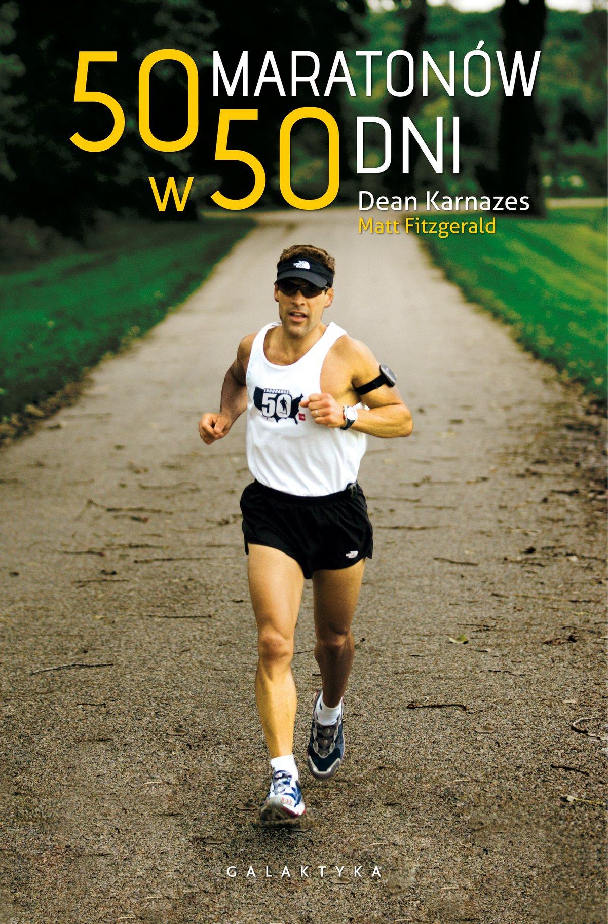 50 maratonów w 50 dni - Ebook (Książka na Kindle) do pobrania w formacie MOBI