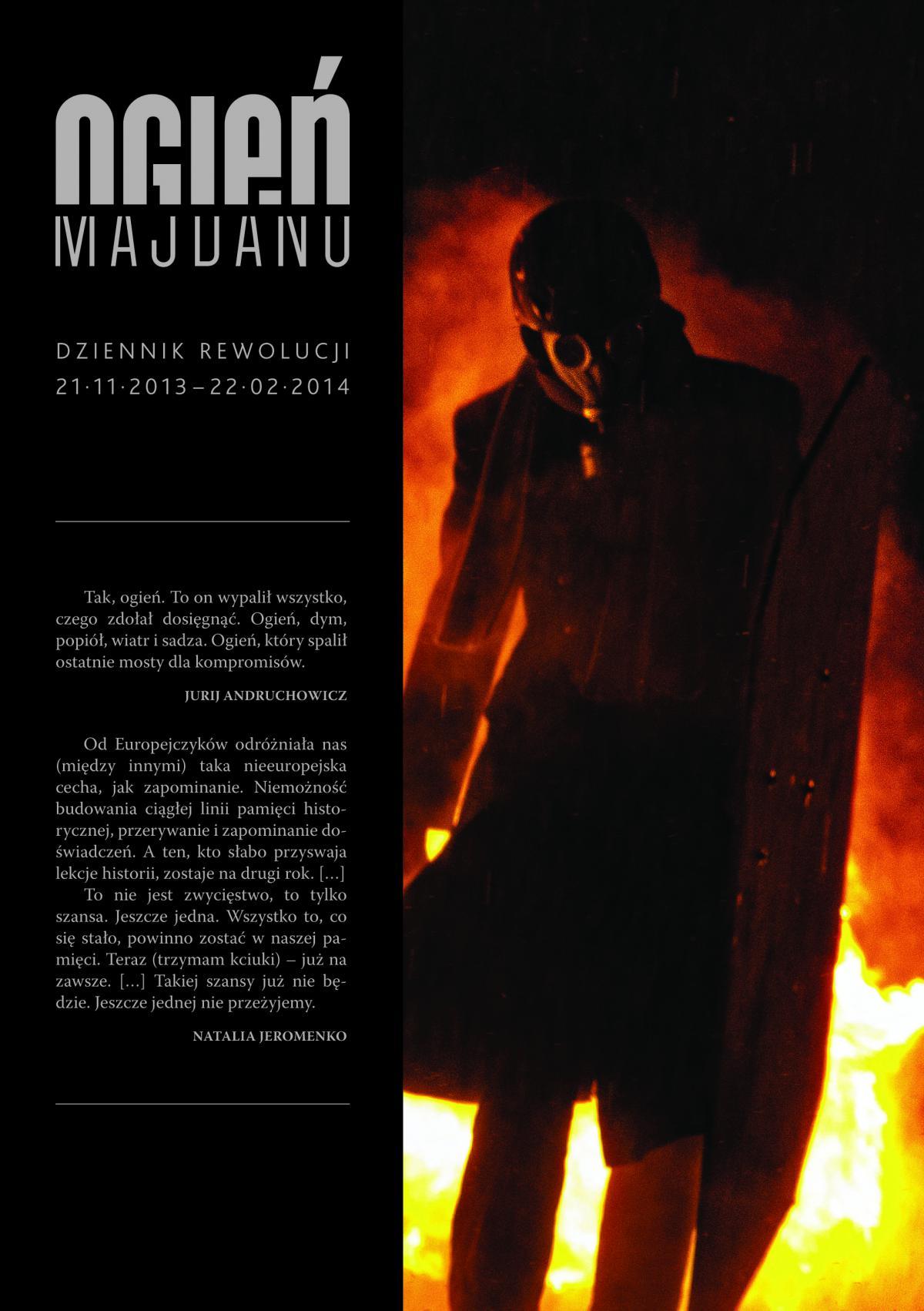 Ogień Majdanu - Ebook (Książka EPUB) do pobrania w formacie EPUB