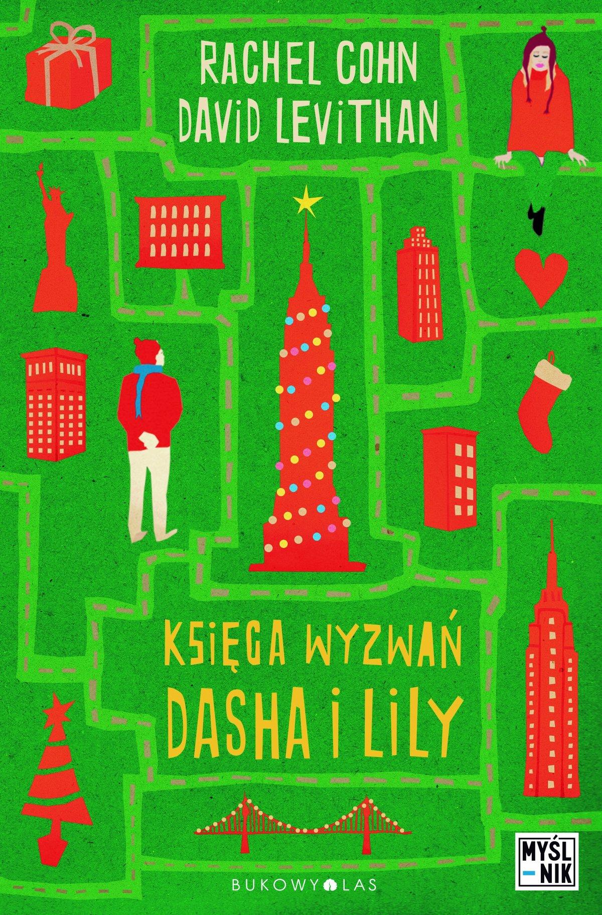 Księga wyzwań Dasha i Lily - Ebook (Książka EPUB) do pobrania w formacie EPUB