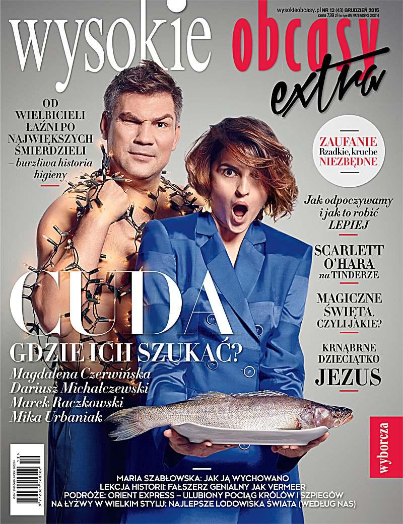 Wysokie Obcasy Extra 12/2015 - Ebook (Książka PDF) do pobrania w formacie PDF