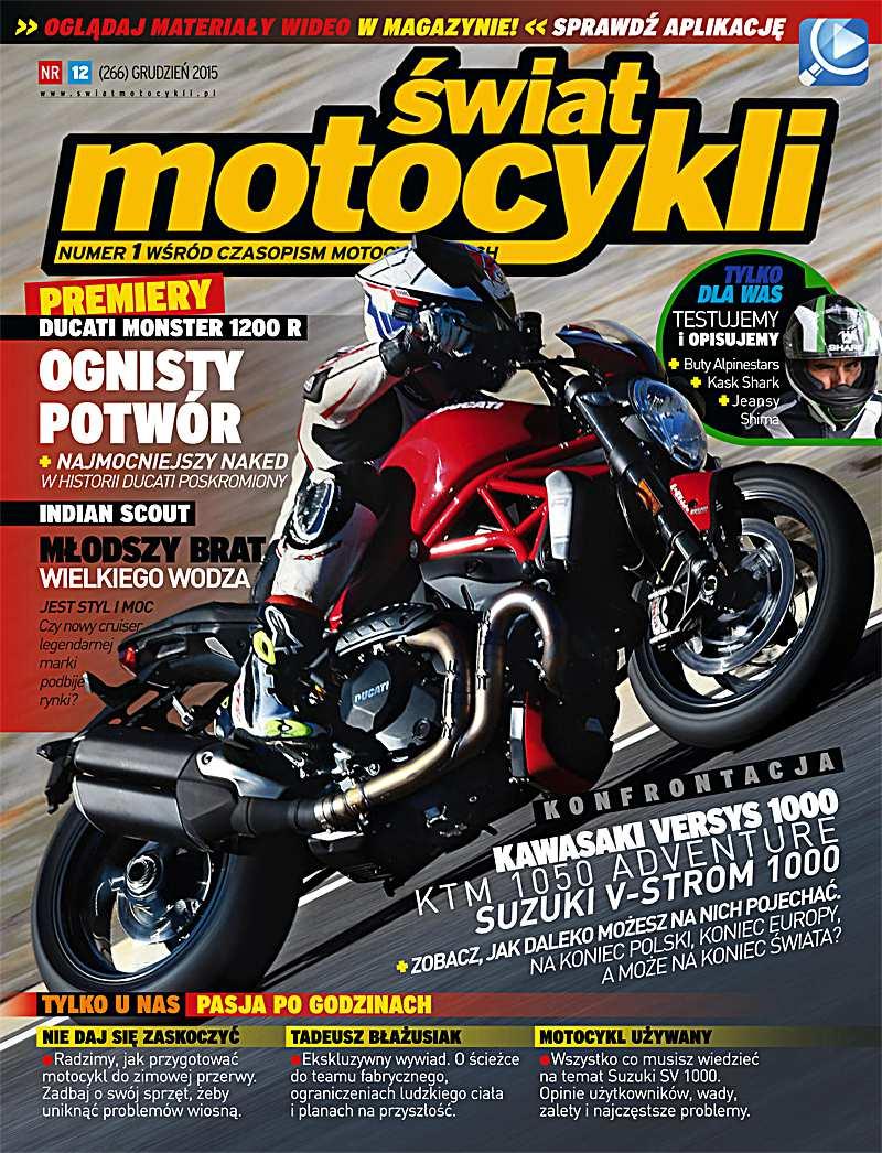 Świat Motocykli 12/2015 - Ebook (Książka PDF) do pobrania w formacie PDF
