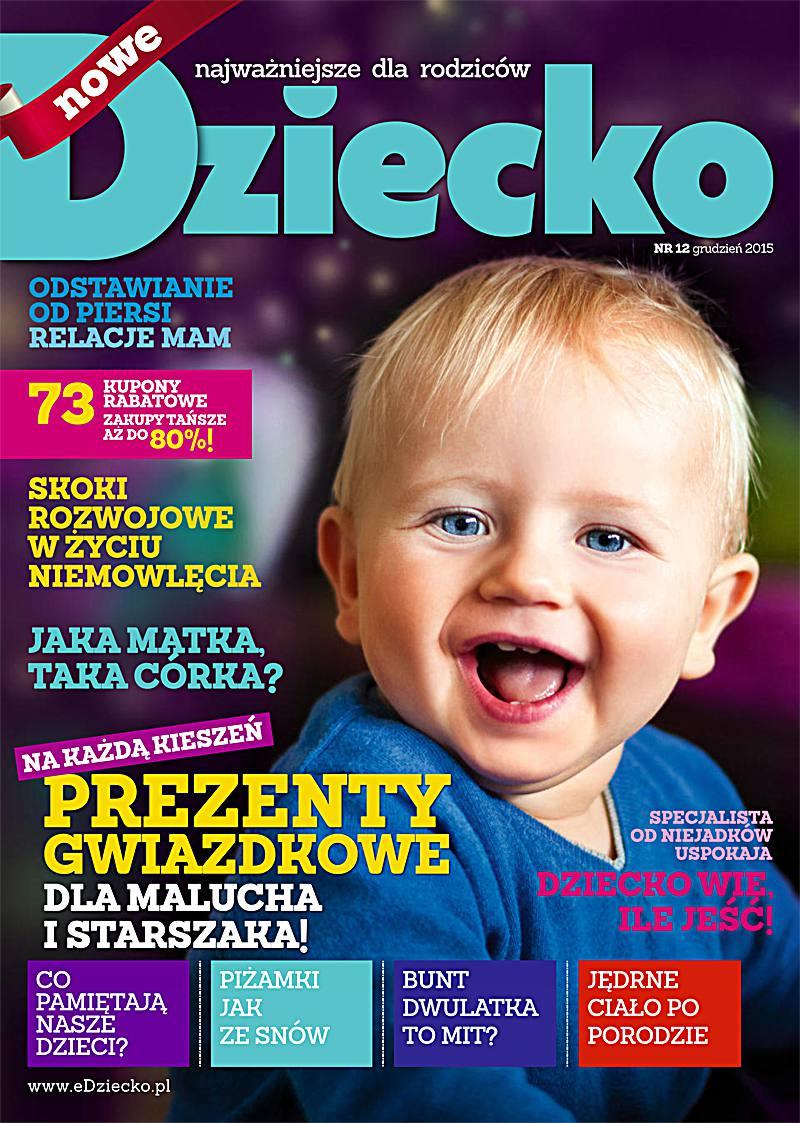 Dziecko 12/2015 - Ebook (Książka PDF) do pobrania w formacie PDF