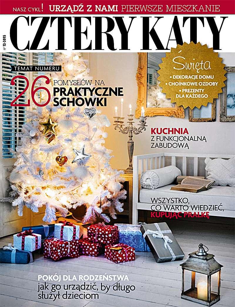 Cztery Kąty 12/2015 - Ebook (Książka PDF) do pobrania w formacie PDF