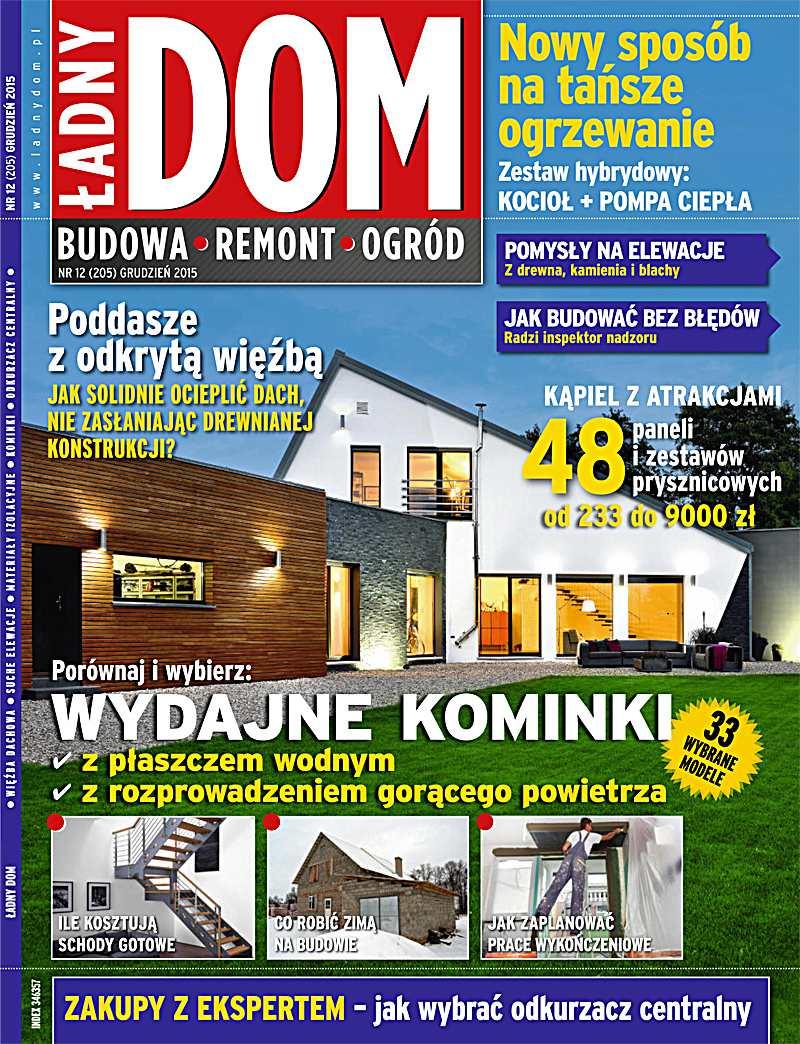 Ładny Dom 12/2015 - Ebook (Książka PDF) do pobrania w formacie PDF