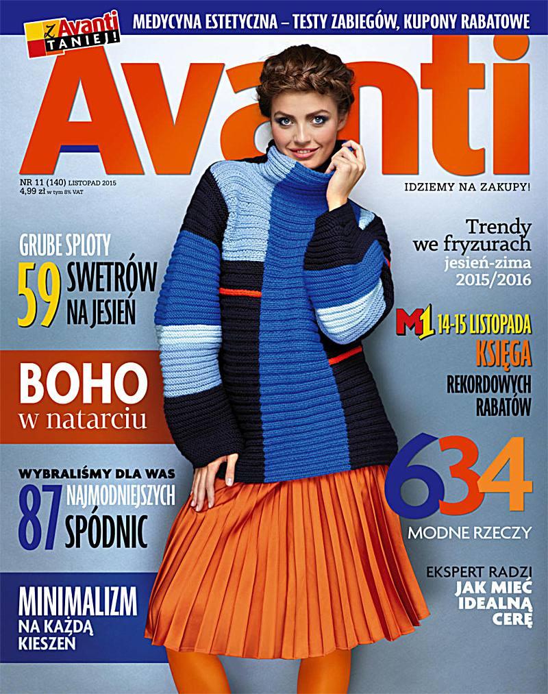 Avanti 11/2015 - Ebook (Książka PDF) do pobrania w formacie PDF