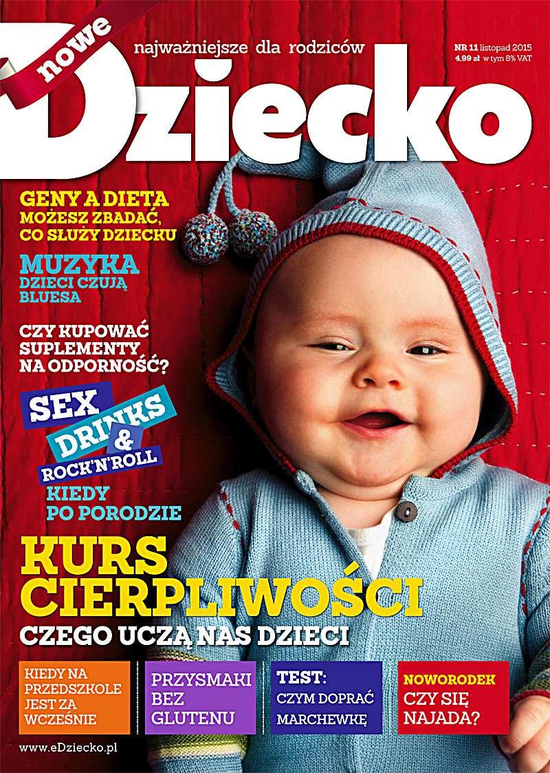 Dziecko 11/2015 - Ebook (Książka PDF) do pobrania w formacie PDF