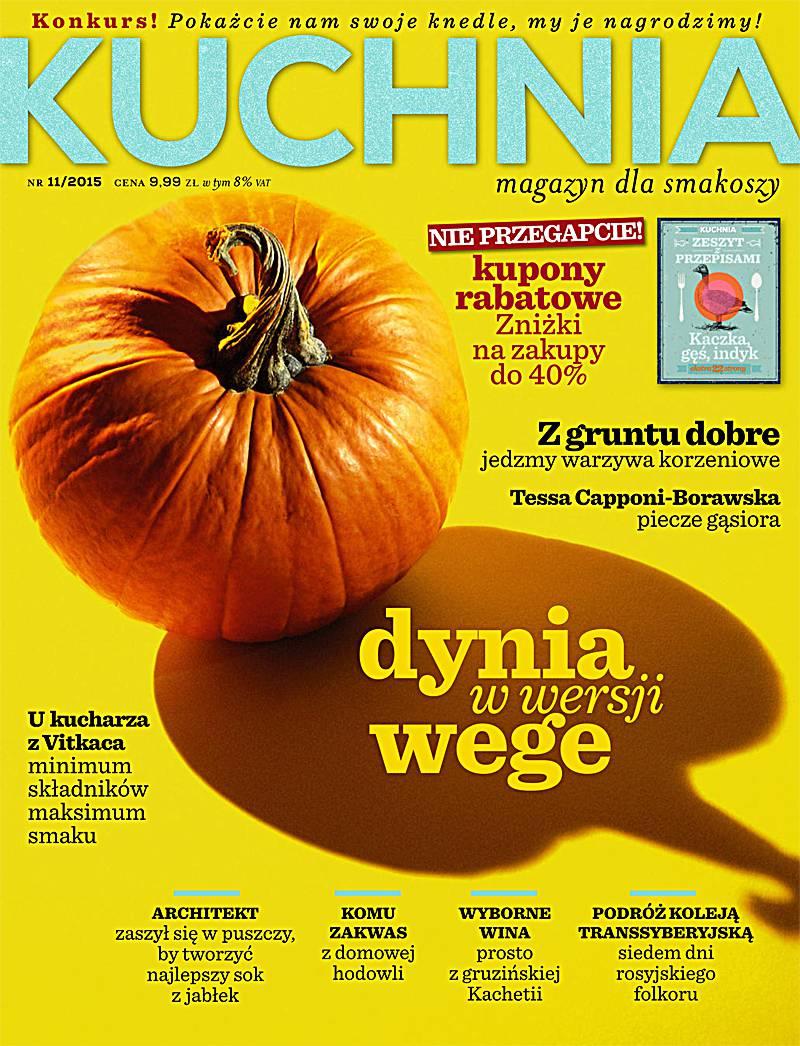 Kuchnia 11/2015 - Ebook (Książka PDF) do pobrania w formacie PDF