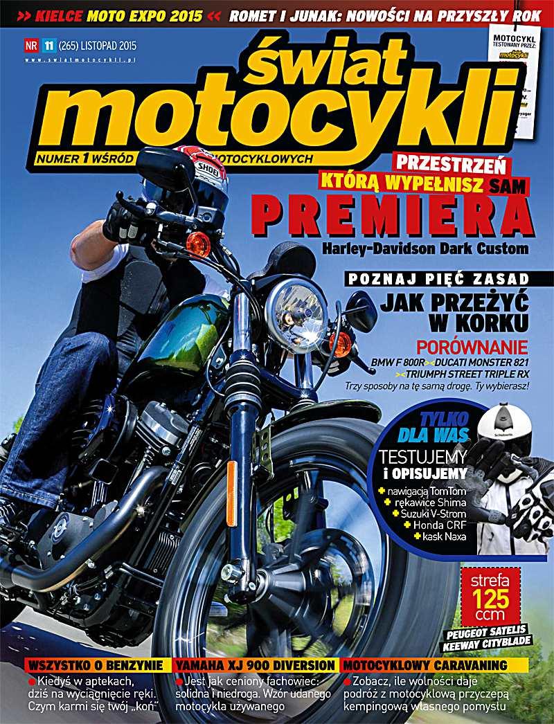 Świat Motocykli 11/2015 - Ebook (Książka PDF) do pobrania w formacie PDF