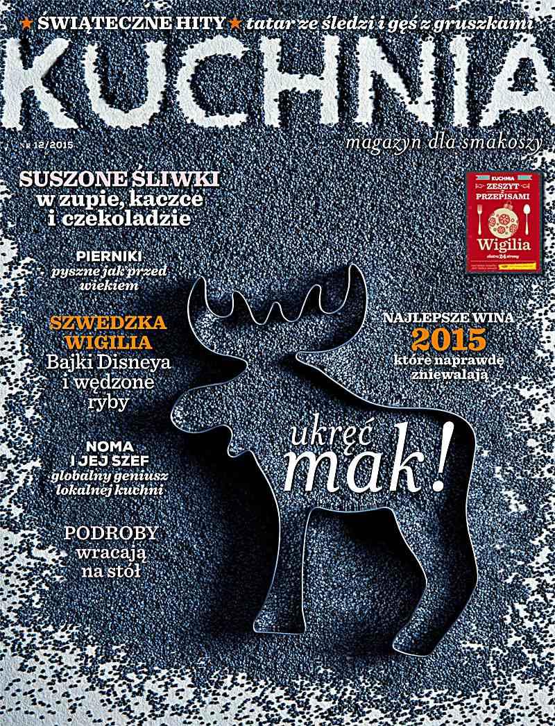 Kuchnia 12/2015 - Ebook (Książka PDF) do pobrania w formacie PDF