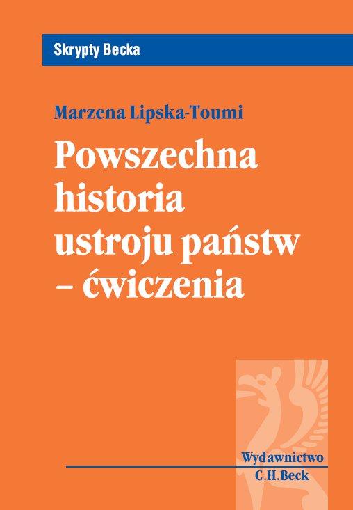 Powszechna historia ustroju państw-ćwiczenia - Ebook (Książka PDF) do pobrania w formacie PDF
