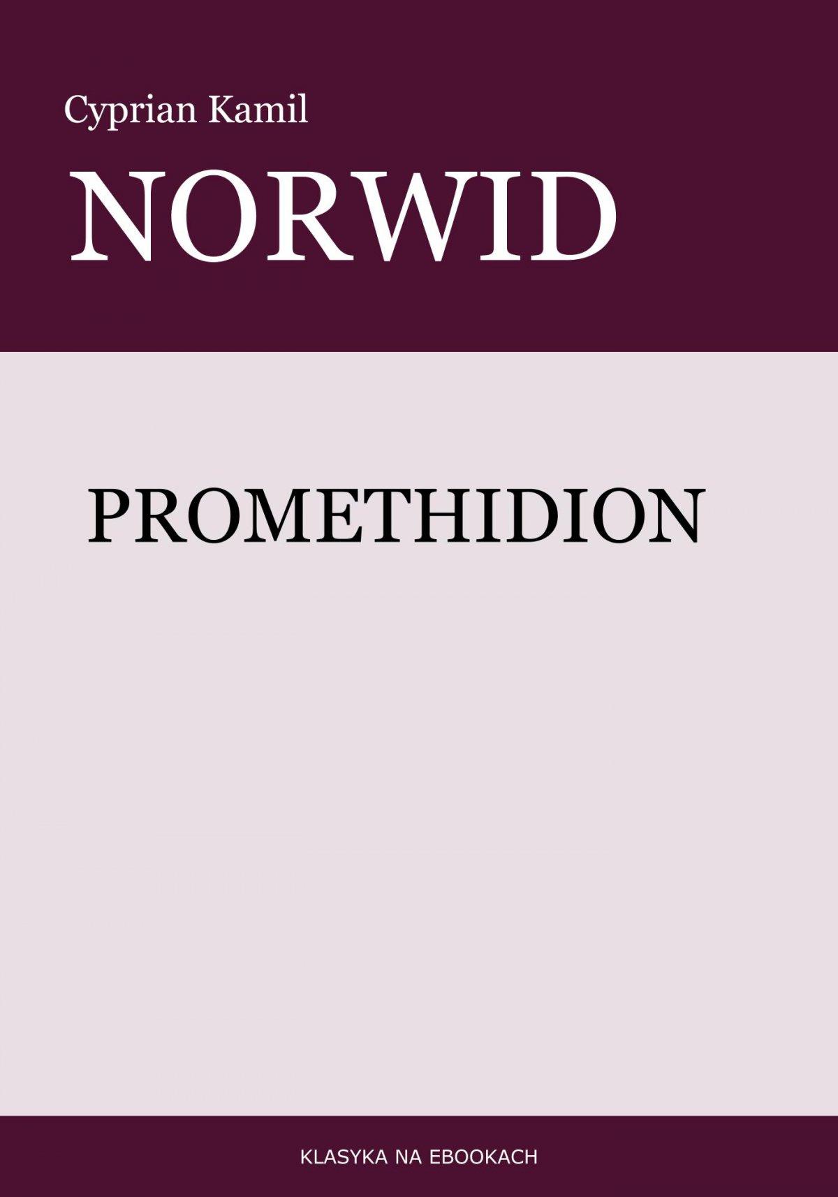 Promethidion - Ebook (Książka EPUB) do pobrania w formacie EPUB