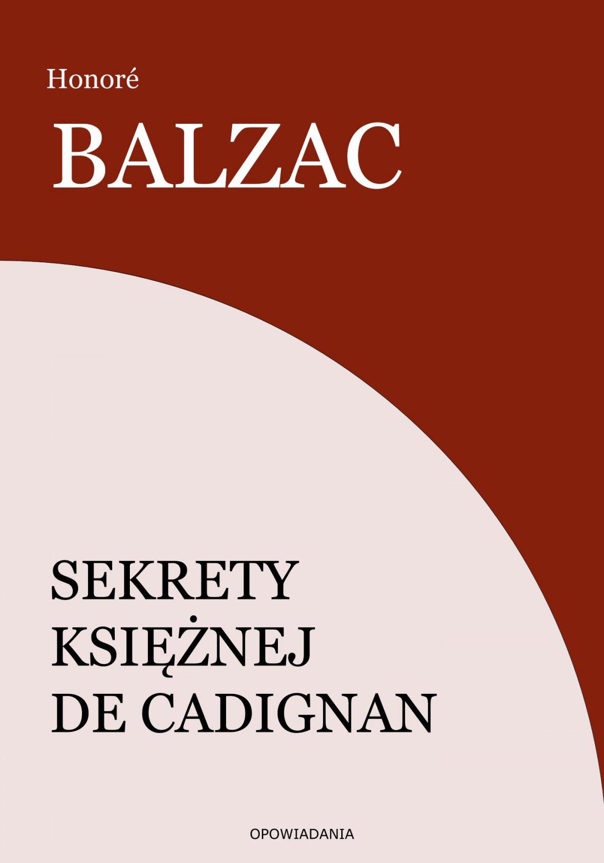 Sekrety księżnej de Cadignan - Ebook (Książka EPUB) do pobrania w formacie EPUB