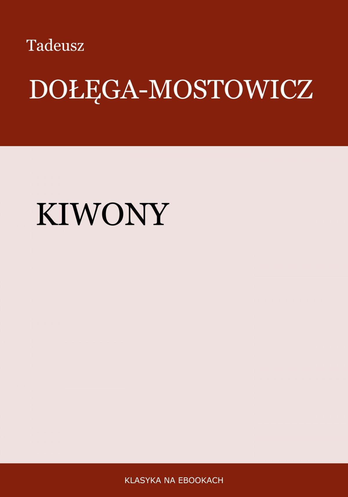 Kiwony - Ebook (Książka EPUB) do pobrania w formacie EPUB